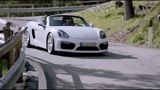 The new Boxster Spyder. Facts & Figures.