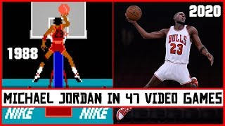 MICHAEL JORDAN, the evolution in Video Games [1988 - 2020]