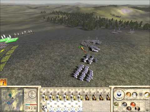 Rome Total War Online Battle #1970: 5 Player Free-For-All (Live-Commentary)