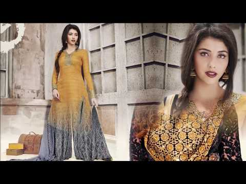 Designer Dresses & Fancy Salwar Suits: latest Party wear Dress & Indo western style designer suit