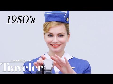 100 Years of Flight Attendant Uniforms   Condé Nast Traveler