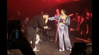 Drake performed live with his rumoured ex Jorja Smith in Toronto