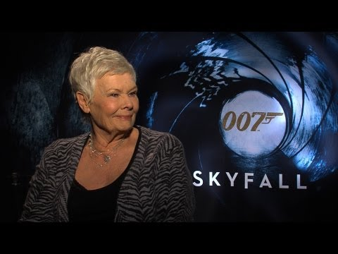 'Skyfall' Judi Dench Interview HD