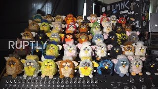 Back to list Nostalgic or nightmare? Londoner makes Furby organ