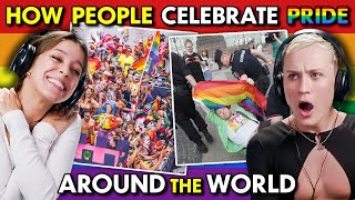 Adults React To Pride Celebrations Around The World