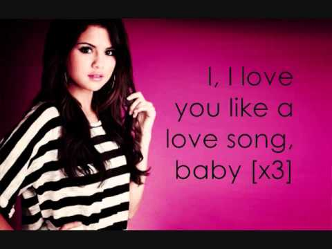 Baixar Love You Like A Love Song Baby - Selena Gomez (Lyrics)