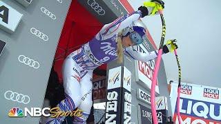 Lindsey Vonn's downhill run at Cortina d'Ampezzo   NBC Sports