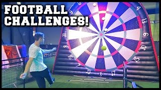 AMAZING FOOTBALL CHALLENGES WITH MY BRO!