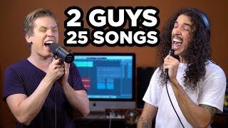2 GUYS 25 SONGS 1 BEAT
