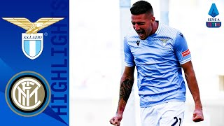 Lazio 1-1 Inter | Two title challengers draw after fiery clash! | Serie A TIM
