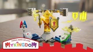 Đồ chơi lắp ráp LEGO NEXO KNIGHTS -  Hiệp sĩ NEXO mới với 3 tuyệt chiêu nâng cấp siêu hạng