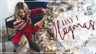 Decorating The House For Christmas | Vlogmas Day 1