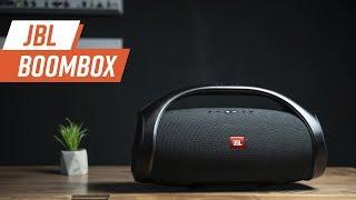 Bass test - JBL Boombox - JBL Fan