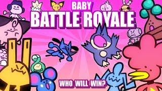 Baby Pokemon Battle Royale (Loud Sound Warning) 🤛👶🤜 Collab With @Lockstin & Gnoggin