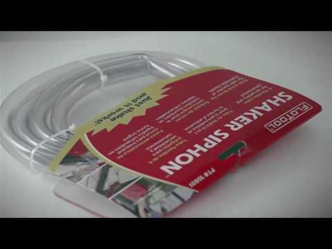 FloTool Shaker Siphon - 6ft. Tube, 3.5 GPM, Model# 10801