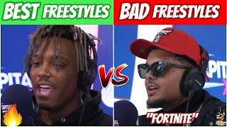 BEST FREESTYLES EVER vs WORST FREESTYLES EVER!