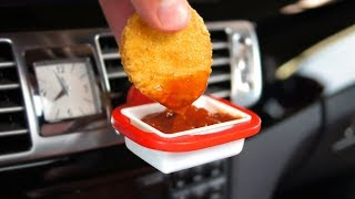 The Dip Clip Lets You Safely Dunk Nugs and Fries in Your Car