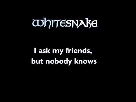 Whitesnake - Love Ain't No Stranger - Lyrics (HD)