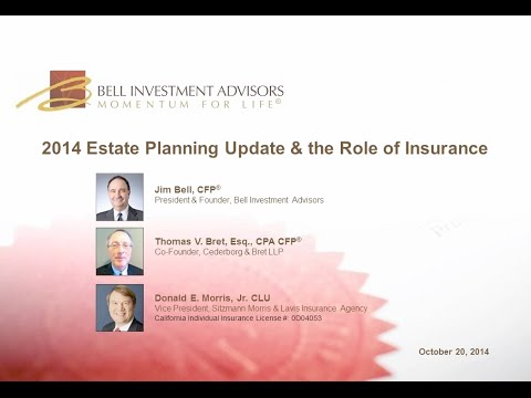 2014 Estate Planning Update and the Role of Insurance