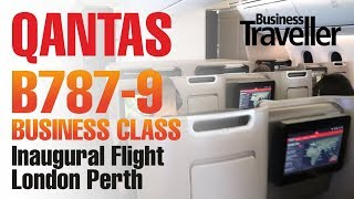Qantas London to Perth, Boeing Dreamliner 787-9 Business Class - Business Traveller