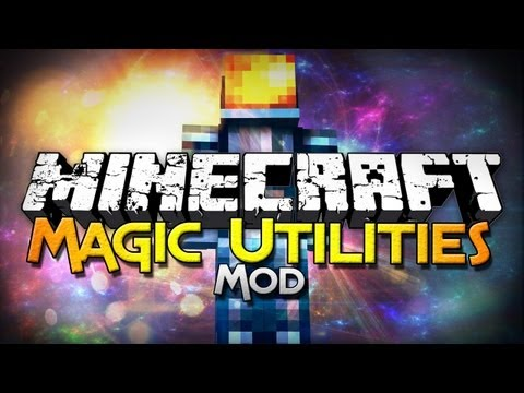 Minecraft Mod Showcase: Magic Utilites Mod - Fly, Control Time, And More! - Smashpipe Games