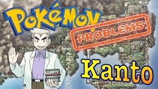 Top 6 Pokemon Problems with the Kanto Region