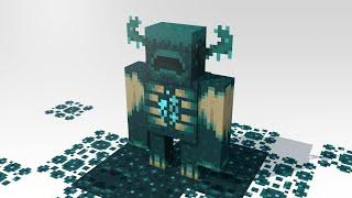 How The Warden & Sculk Blocks Might Work - Minecraft Animation