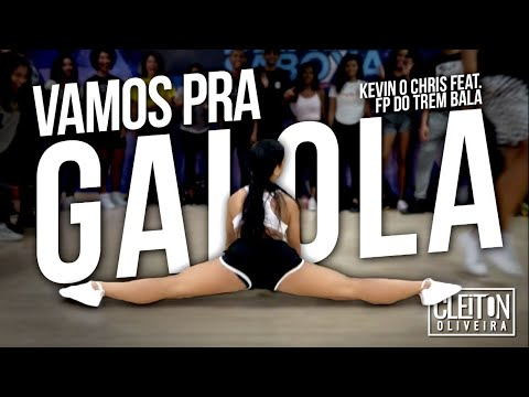 Vamos pra Gaiola - Kevin o Chris Feat. FP do Trem Bala ( COREOGRAFIA ) Cleiton Oliveira