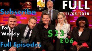 Full Graham Norton Show S23E06 Ryan Reynolds, Josh Brolin, David Beckham, Vanessa Kirby