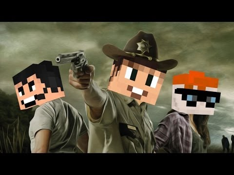 Drunk Minecraft   THE WALKING DEAD - Smashpipe Games