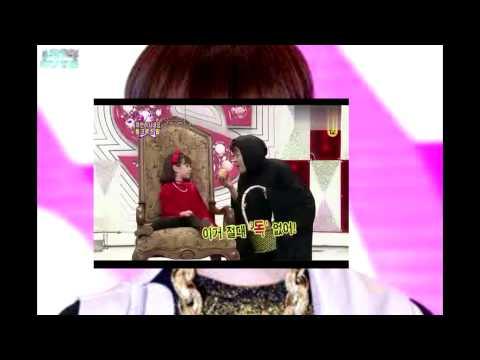 140603 Taemin and the girl lookalike Suri Cruise