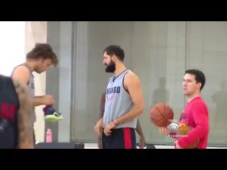 Bulls' Nikola Mirotic Hospitalized After Practice Altercation With Bobby Portis