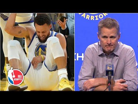 Steph Curry's broken hand makes Warriors tough start worse - Steve Kerr | NBA on ESPN
