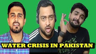 WATER CRISIS IN PAKISTAN | khujlee Family | The Wide Side | Indian Reactions