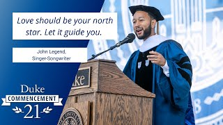 John Legend | Duke Commencement 2021 Address video