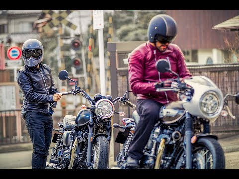 The Original Icon | The new Kawasaki W800 Street & W800 CAFE 2019 | Official Action Video