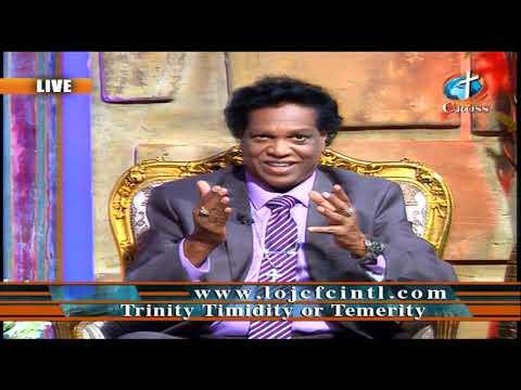 Trinity Timidity or Temerity Dr. Dominick Rajan 08-28-2020