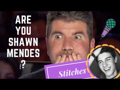 Best Shawn Mendes Stitches in audition  || Mind Blowing