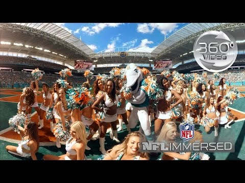 Miami Dolphins Cheerleaders (360 Video) | Ep. 2 | NFL Immersed by NFL