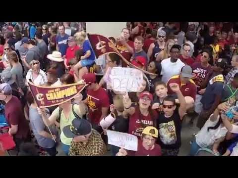 Highlights from the Cleveland Cavaliers' World Championship Parade