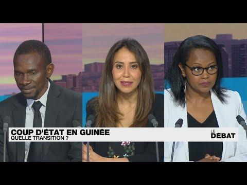 Coup d'État en Guinée : quelle transition ? • FRANCE 24