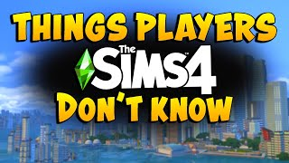 33 USEFUL Gameplay Tips and Secrets for The Sims 4