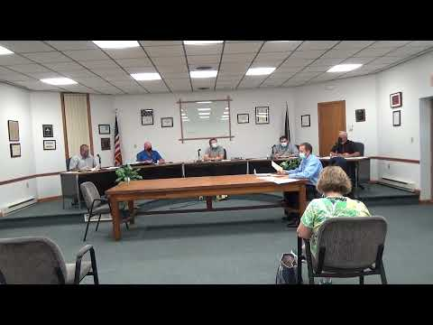 Rouses Point Village Board Meeting  9-7-21