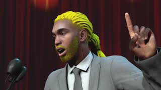 99 OVERALL RETIRE HIS PLAYER IN NBA 2K19 - HALL OF FAME SPEECH