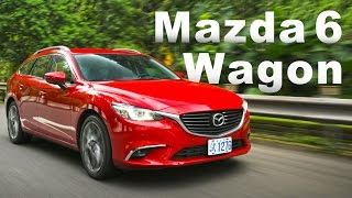 強勢本質 柴力美臀跑旅 2017 Mazda 6 Wagon