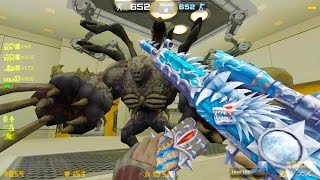 Counter-Strike Nexon: Zombies - Dr. Rex Zombie boss Fight (Hard4) online gameplay on Paranoia map