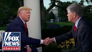 Trump talks impeachment fallout on 'Hannity' | FULL INTERVIEW