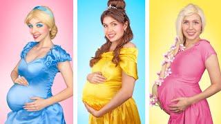 What If Disney Princesses Were Pregnant