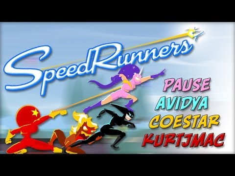 SpeedRunners with Avidya, Coestar, & Pause - 01 - New Guy thumbnail