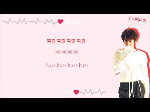 CHANYEOL 찬열 - Signal 시그널 (Cover) Color-Coded-Lyrics Han l Rom l Eng 가사 l  xoxobuttons